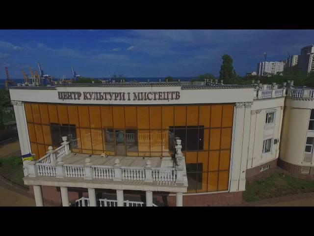 Черноморск Ильичевск полет над городом мечты Chernomorsk flight over the city of dreams