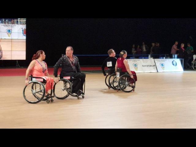 Танцы на колясках чемпионат мира в Санкт-Петербурге 10.09.2016