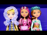 New Ever After High Dolls Collection 2016 3 Dolls Epic Winter Unpacking Unboxing Review Video