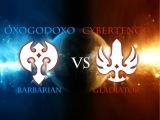 Dragon Nest NA PvP : Gladiator(CyberTengu) vs Barbarian(oXoGODoXo)