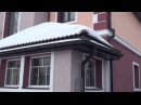 Был холодный дом из газобетона утеплили пенопластом и он стал тёплый и красивым