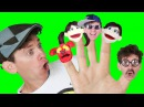 Finger Family Song - Daddy Finger with Matt Nursery Rhymes Learn English Kids