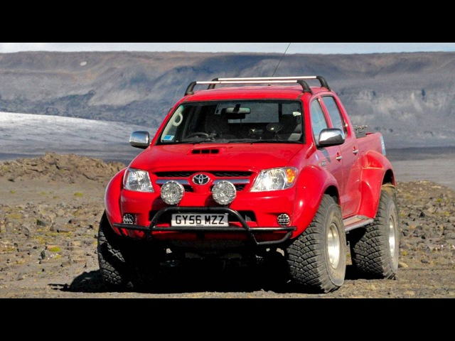 Arctic Trucks Toyota Hilux Invincible AT38 '2007