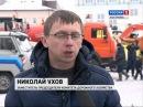 В Костроме прошла выставка коммунальной техники