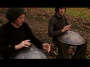 Хэнг Драм Дуо. Hang Massive - Once Again - 2011 ( hang drum duo ) ( HD )