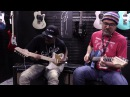 Eric Gales and Greg Koch Jam at the John Page Classic Booth NAMM 2017