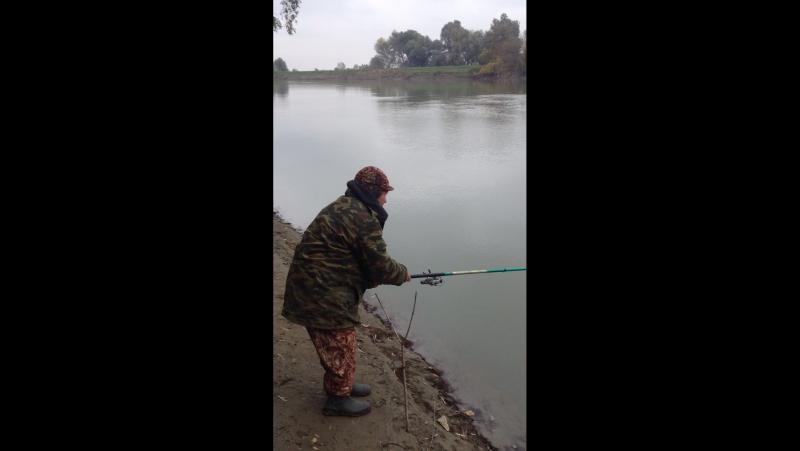 Рыбалочка в ст. Троицкой.