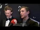 GULLRUTEN Тарьяй и Хенрик - поцелуй, интервью Русские субтитры