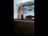 Л.Бетховен, Концерт для скрипки ре-мажор, 2 и 3 части.