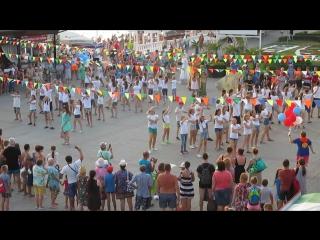 флэш-моб Киндерланда на набережной Кабардинки