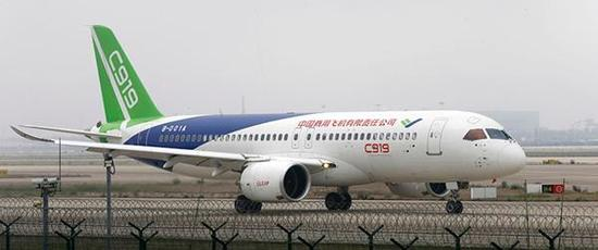 Пассажирский самолет C919 китайского производства совершит свою свой п
