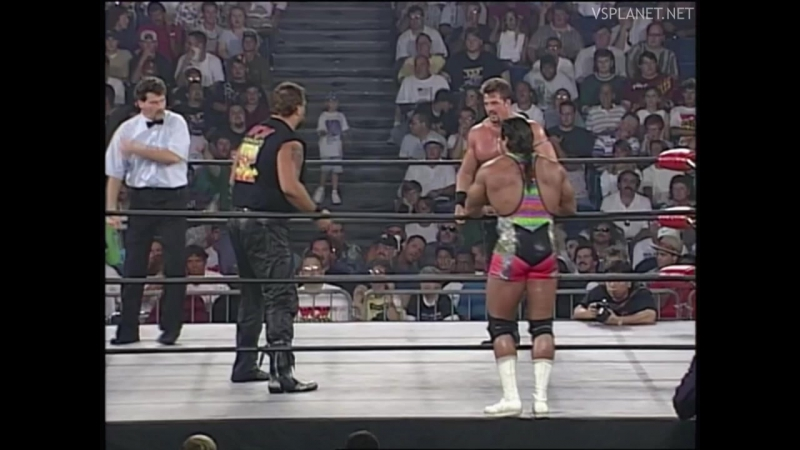 Kevin Sullivan and Big Bubba vs Jim Powers and Buff Bagwell, WCW Monday Nitro 26.08.1996