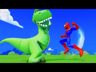 Superhero Spiderman releases Frozen Elsa and Anna in Jail kidnapped + Mcqueen Cars & Hulk