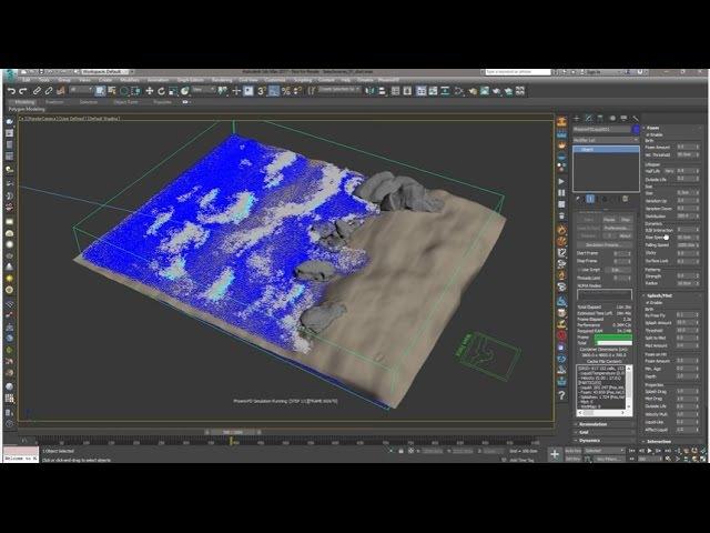 Phoenix FD 3.0 for 3ds Max - Beach Waves Tutorial