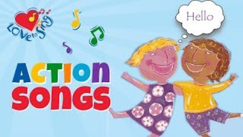 Hello Song with Lyrics | Children Love to Sing Kids Greeting Song