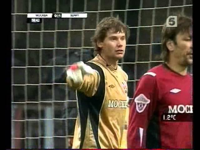 ФК Москва 0-2 Зенит / 23.03.2008 / Премьер-Лига