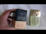 1960 Admiral model Y2068 transistor radio (made in the good old USA)