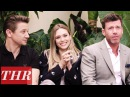 Elizabeth Olsen, Jeremy Renner Taylor Sheridan on 'Wind River's Standing Ovation | Cannes 2017