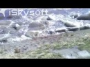 Kuskokwim River Huge Ice Chunks Climbing 50 Vertical Feet In Less Than 10 Seconds During Breakup