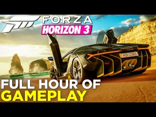 Forza Horizon 3: FULL Hour of GAMEPLAY + Review & Commentary!