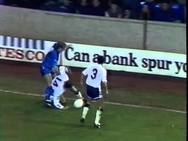 Tottenham H v Chelsea League Cup QF Replay 1991