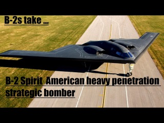 B-2 Spirit, also known as the Stealth Bomber, is an American heavy penetration strategic bomber,
