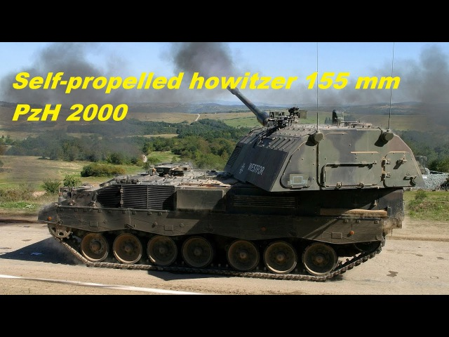 PzH 2000 155mm Self-Propelled Howitzer, Germany . 155mm self-propelled howitzer.