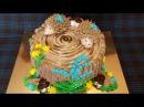 Украшение тортов ПЕНЁК Украшение торта кремом Оформление тортов Cake decorating