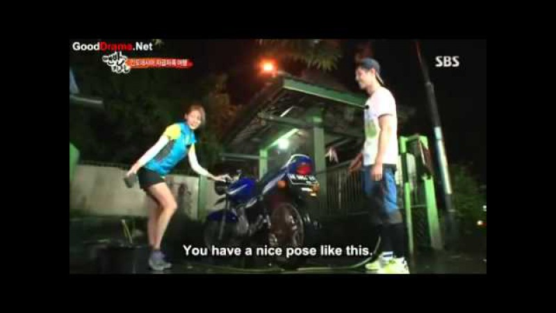 Kim Hyun Joong - Uee [That Winter The Wind Blows Parody] (Eng Sub)