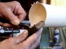 Как профессионально точить древесину № 41. Изготовление резца внутренней обработки.