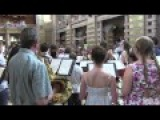 Glasgow 2014 - Nicola Benedetti flash mob at Kelvingrove Museum