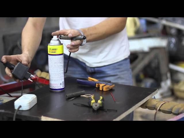 ⚙ Самостоятельная чистка форсунок Denso Flushing Mazda fuel injector Denso ⚙