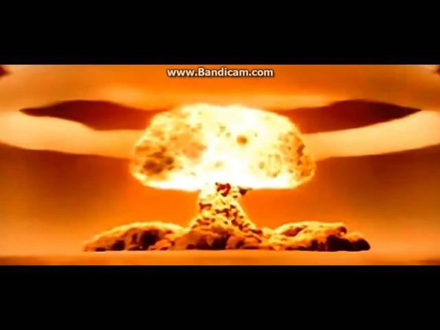 Взрыв вадародной бомбы АН602 (она же «Царь-бомба»)