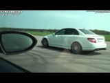 Mercedes C63 AMG vs BMW M6 Coupe