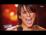 Sam Brown - Stop Ludivine Aubourg The Voice France 2012 Blind Audition