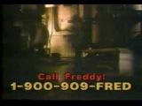 Freddy Kruger 900 Number Hotline