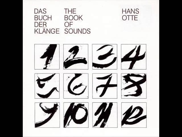 Hans Otte - Das Buch der Klänge