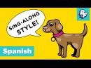 Spanish Hello Song with BASHO FRIENDS - Hola Amigo, Hello My Friend
