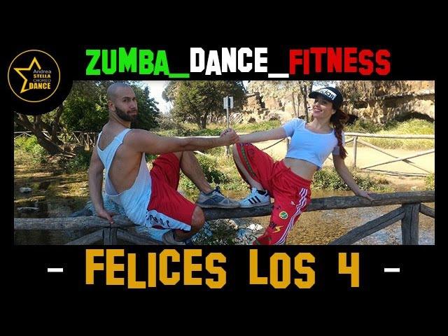 FELICES LOS 4 | Maluma | ZUMBA - DANCE FITNESS | Andrea stella choreo dance