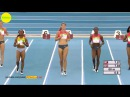 Dafne Schippers vs Barbara Pierre Dina Asher Smith 60m FINAL Karlsruhe 2016