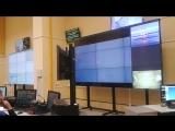28.04.16 Командный центр стартового комплекса космодрома Восточный. Пуск ракеты.