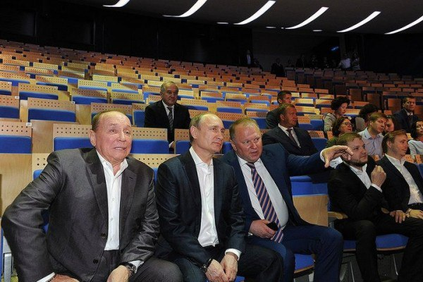 Путин, Цуканов, Булавин, Масляков