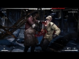 Mortal Kombat XL - Jason-LeatherFace Mesh Swap Intro, X Ray, Victory Pose, Fatalities, Brutalities