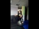 Лада и мячик