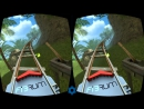 VR Roller Coaster Google Cardboard 3D SBS 1080p Virtual Reality