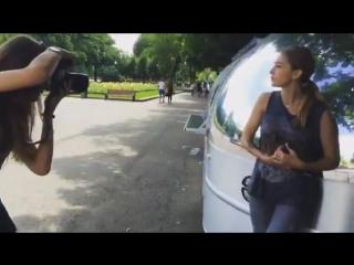 Страый ролик. Бэкстейдж со съемки Насти для Городских сумасшедших