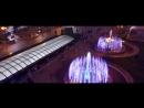 Световые фонтаны на Майдане