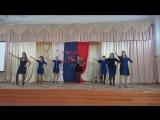 Флешмоб молодых учителей на День Учителя, школа №2 города Свирска