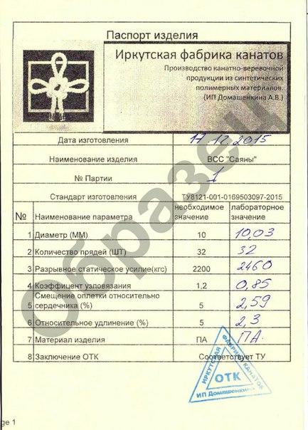 Паспорт на Саяны