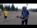 19 часть, смешанная эстафета,Чемпионат Украины по летнему биатлону среди юниоров и юниорок